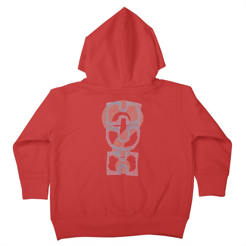 Huh? Kids Toddler Zip-Up Hoody by P. Calavara's Artist Shop