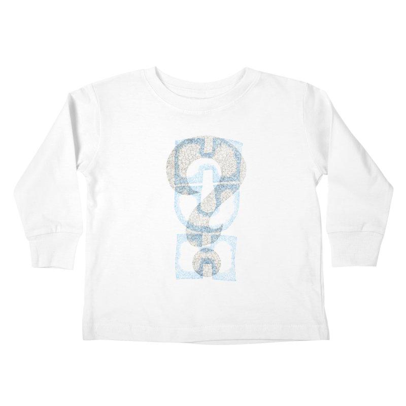 Huh? Kids Toddler Longsleeve T-Shirt by P. Calavara's Artist Shop