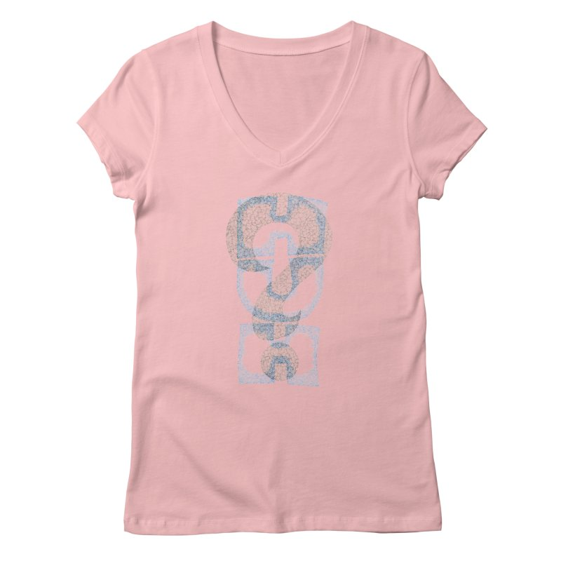 Huh? Women's Regular V-Neck by P. Calavara's Artist Shop