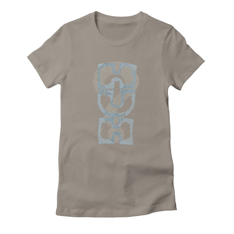 Huh? Women's Fitted T-Shirt by P. Calavara's Artist Shop