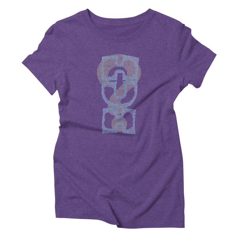 Huh? Women's Triblend T-Shirt by P. Calavara's Artist Shop