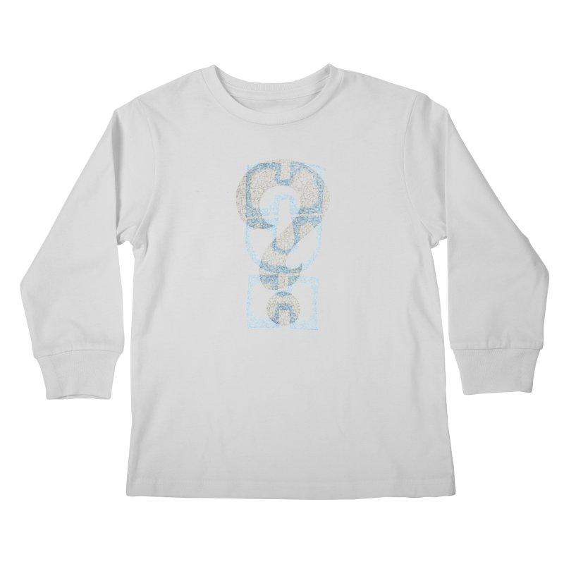 Huh? Kids Longsleeve T-Shirt by P. Calavara's Artist Shop