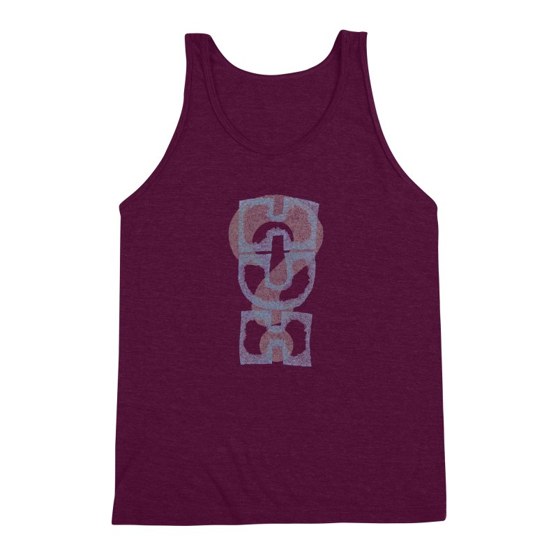 Huh? Men's Triblend Tank by P. Calavara's Artist Shop