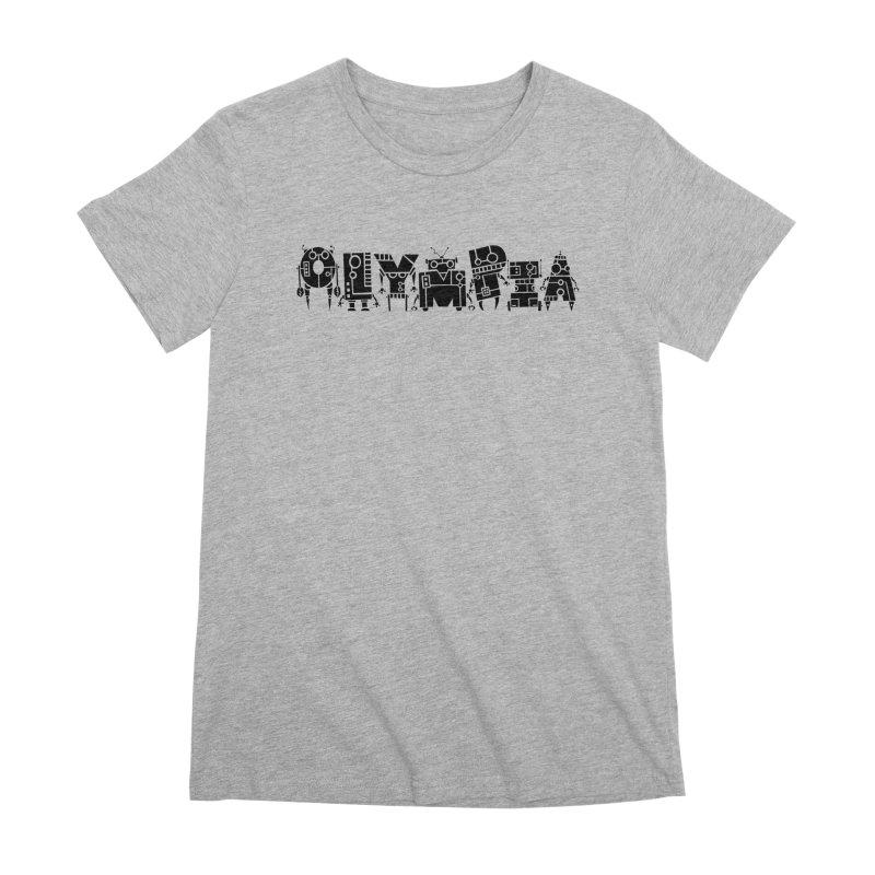 OLYMPIA Women's Premium T-Shirt by P. Calavara's Artist Shop
