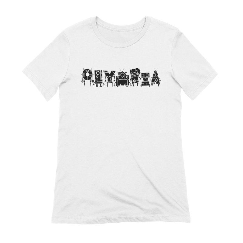 OLYMPIA Women's Extra Soft T-Shirt by P. Calavara's Artist Shop