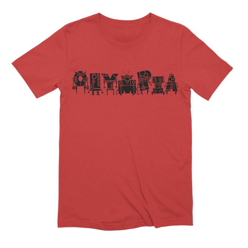 OLYMPIA Men's Extra Soft T-Shirt by P. Calavara's Artist Shop