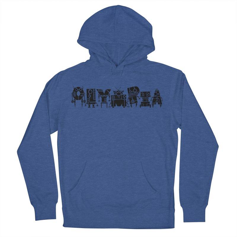 OLYMPIA Men's Pullover Hoody by P. Calavara's Artist Shop