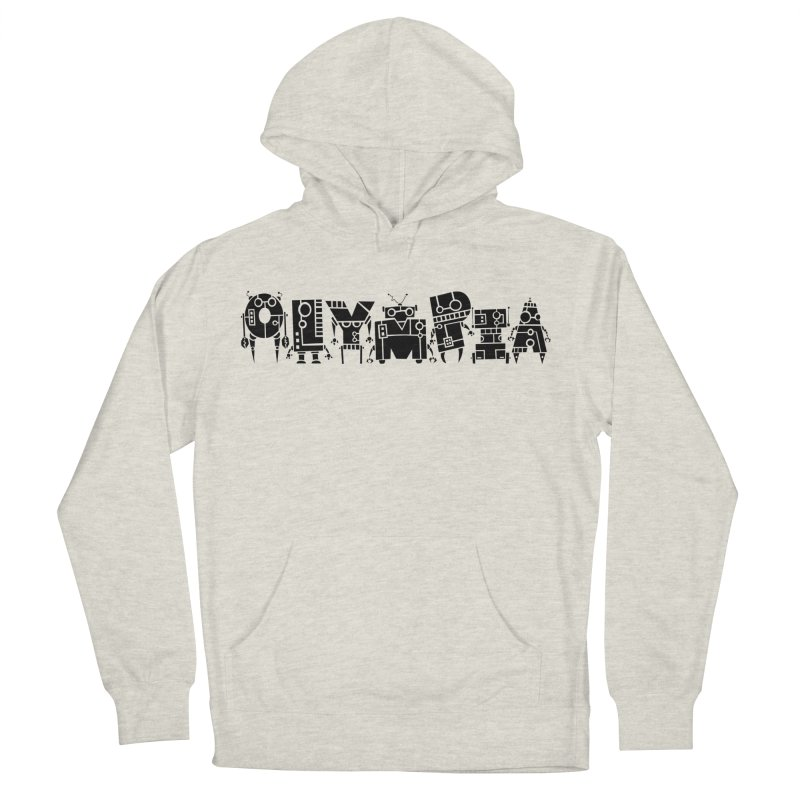 OLYMPIA Women's French Terry Pullover Hoody by P. Calavara's Artist Shop