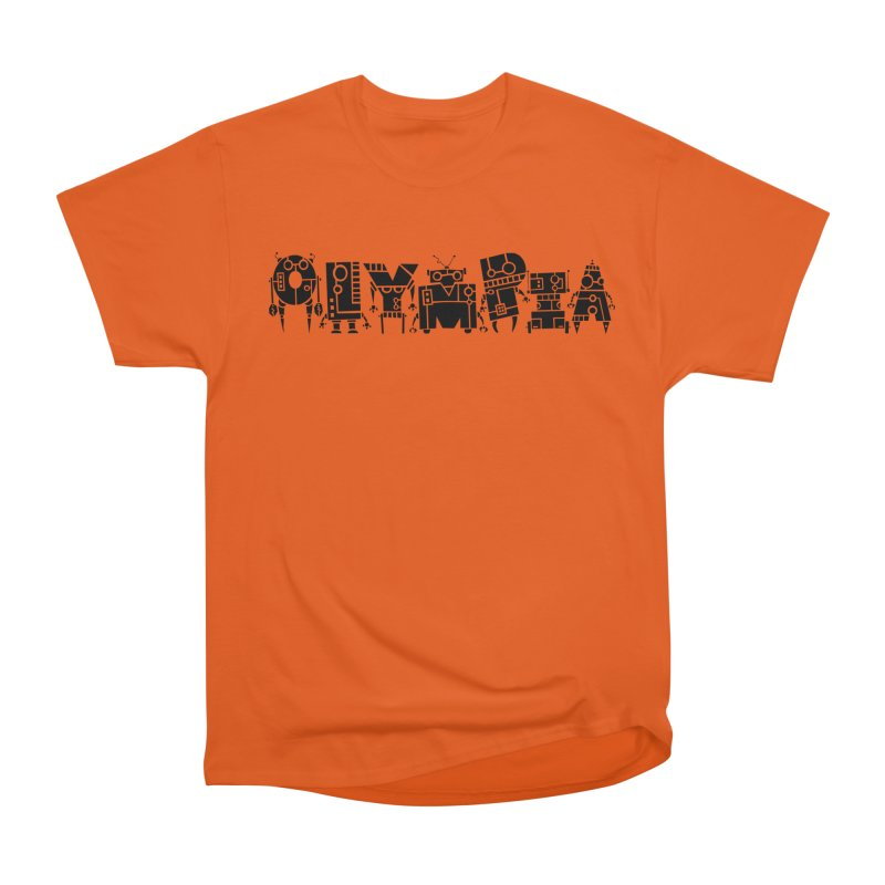 OLYMPIA Men's T-Shirt by P. Calavara's Artist Shop