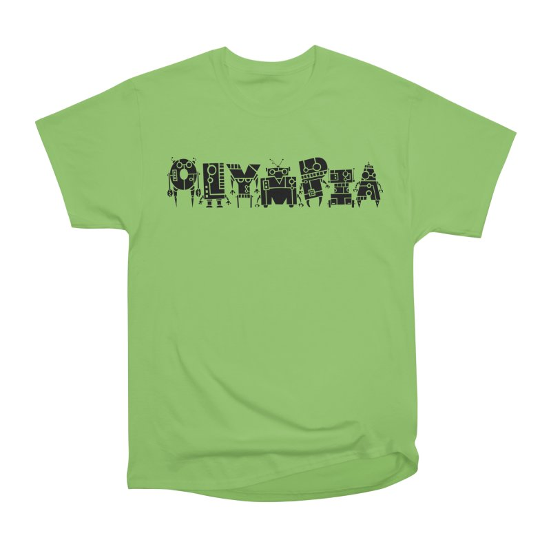 OLYMPIA Women's Heavyweight Unisex T-Shirt by P. Calavara's Artist Shop