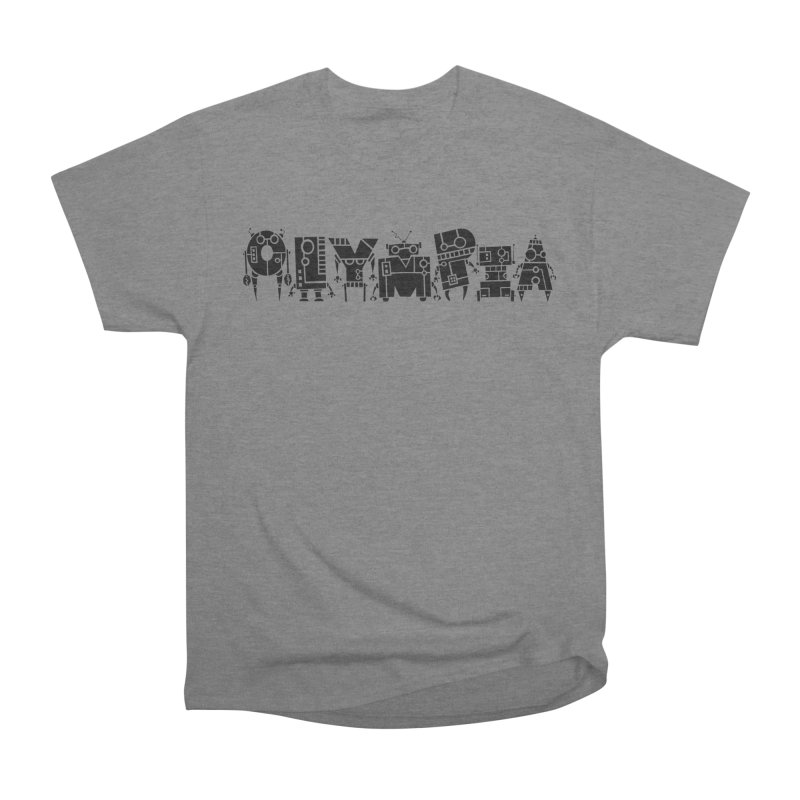 OLYMPIA Men's Heavyweight T-Shirt by P. Calavara's Artist Shop