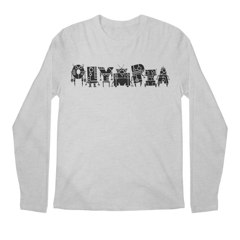 OLYMPIA Men's Regular Longsleeve T-Shirt by P. Calavara's Artist Shop