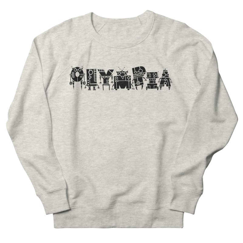 OLYMPIA Women's French Terry Sweatshirt by P. Calavara's Artist Shop