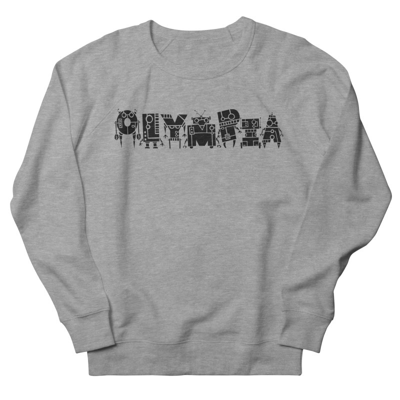 OLYMPIA Men's French Terry Sweatshirt by P. Calavara's Artist Shop