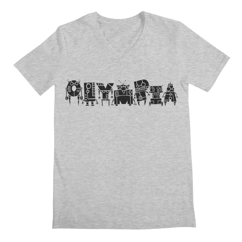 OLYMPIA Men's Regular V-Neck by P. Calavara's Artist Shop