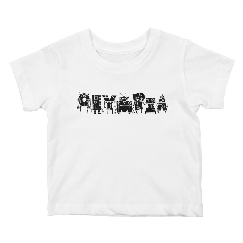 OLYMPIA Kids Baby T-Shirt by P. Calavara's Artist Shop