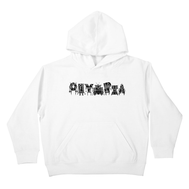 OLYMPIA Kids Pullover Hoody by P. Calavara's Artist Shop