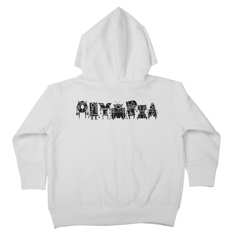 OLYMPIA Kids Toddler Zip-Up Hoody by P. Calavara's Artist Shop