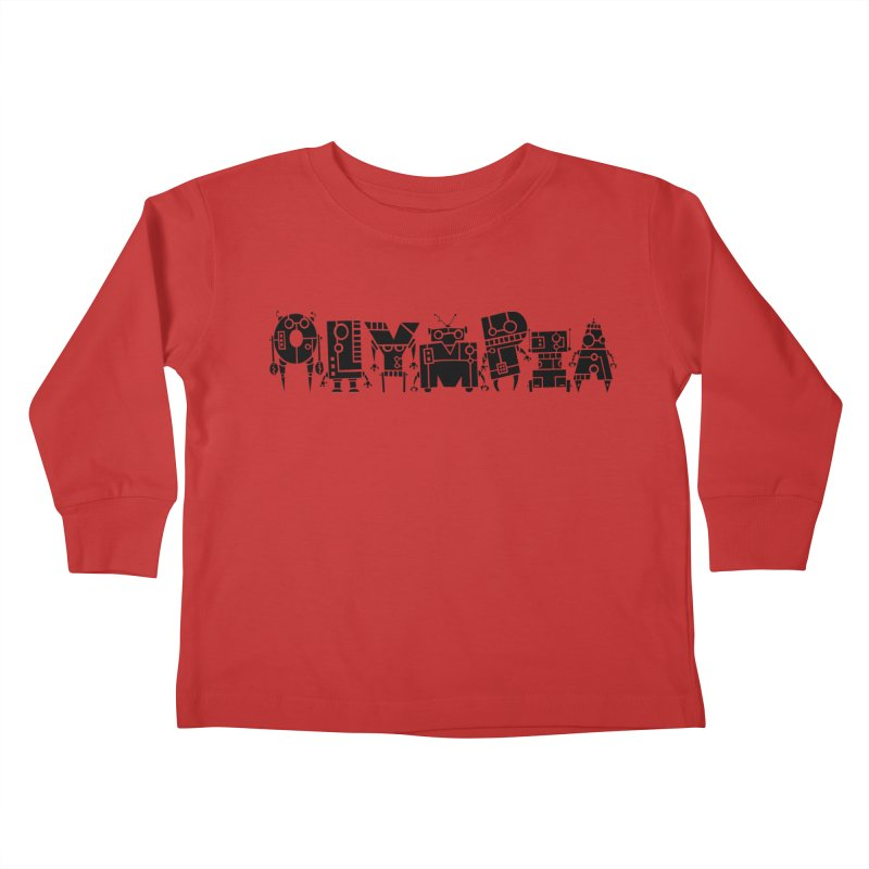 OLYMPIA Kids Toddler Longsleeve T-Shirt by P. Calavara's Artist Shop
