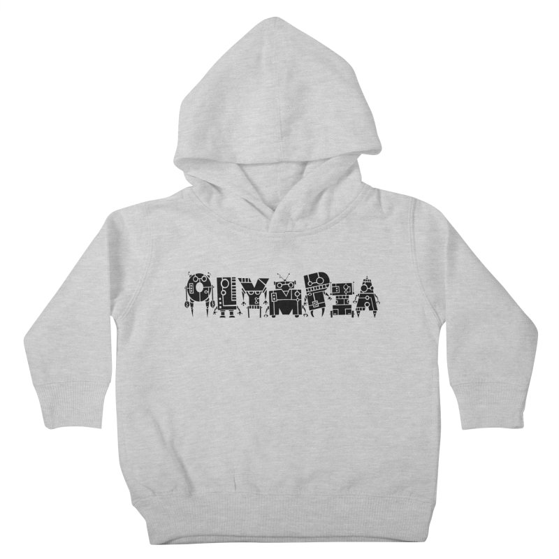 OLYMPIA Kids Toddler Pullover Hoody by P. Calavara's Artist Shop