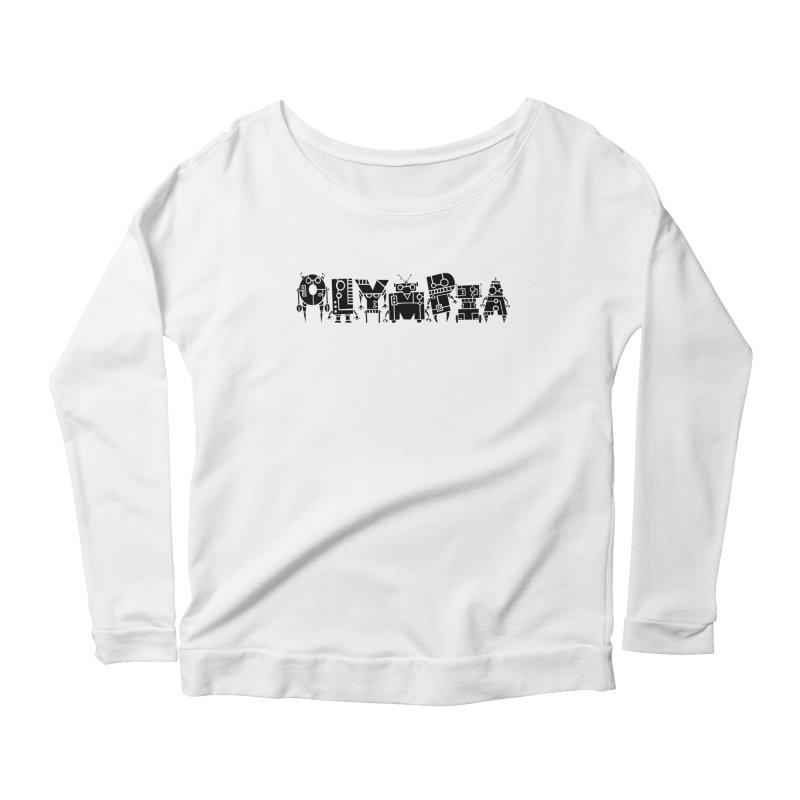 OLYMPIA Women's Scoop Neck Longsleeve T-Shirt by P. Calavara's Artist Shop