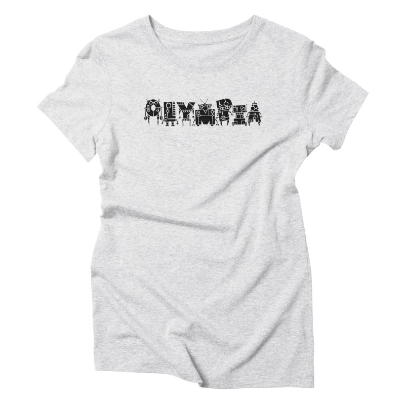 OLYMPIA Women's Triblend T-Shirt by P. Calavara's Artist Shop