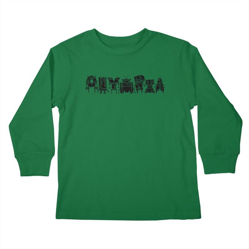 OLYMPIA Kids Longsleeve T-Shirt by P. Calavara's Artist Shop