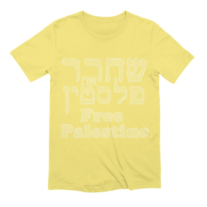 Free Palestine Men's Extra Soft T-Shirt by Undying Apparel Shop