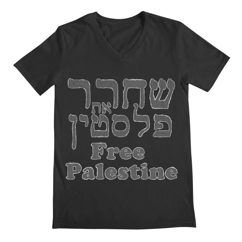 Free Palestine Men's V-Neck by Undying Apparel Shop