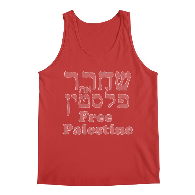 Free Palestine Men's Tank by Undying Apparel Shop