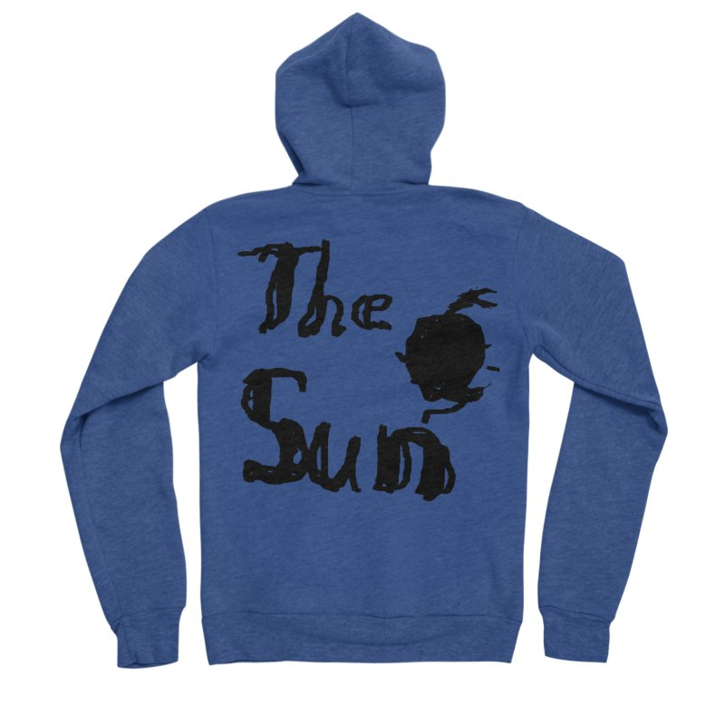 Shirt about the Sun Women's Sponge Fleece Zip-Up Hoody by Undying Apparel Shop