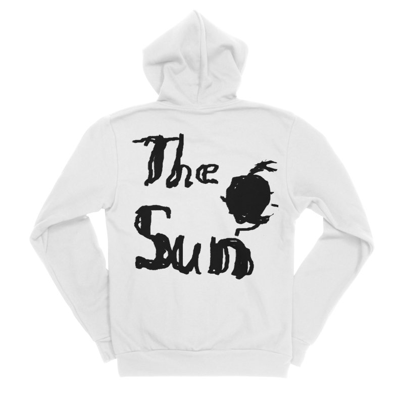 Shirt about the Sun Men's Sponge Fleece Zip-Up Hoody by Undying Apparel Shop