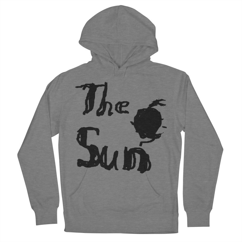 Shirt about the Sun Women's French Terry Pullover Hoody by Undying Apparel Shop
