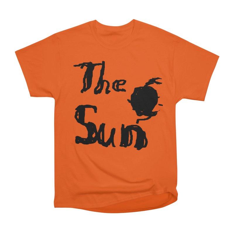 Shirt about the Sun Men's Heavyweight T-Shirt by Undying Apparel Shop