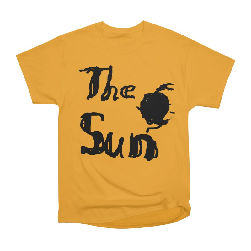 Shirt about the Sun Women's Heavyweight Unisex T-Shirt by Undying Apparel Shop