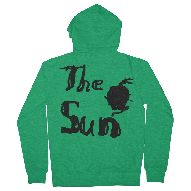 Shirt about the Sun Men's Zip-Up Hoody by Undying Apparel Shop
