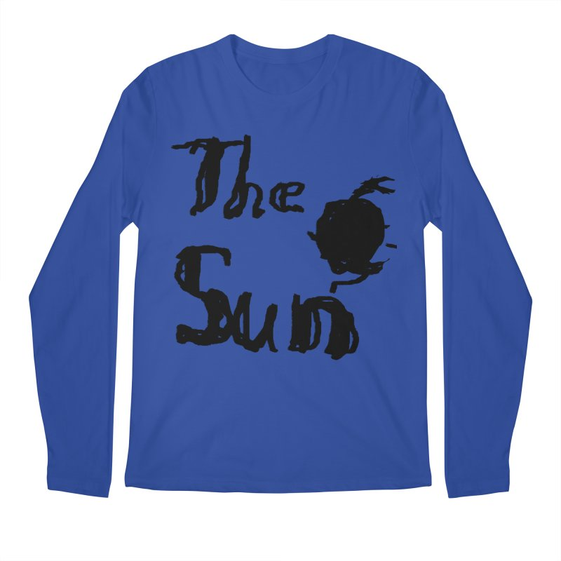 Shirt about the Sun Men's Regular Longsleeve T-Shirt by Undying Apparel Shop