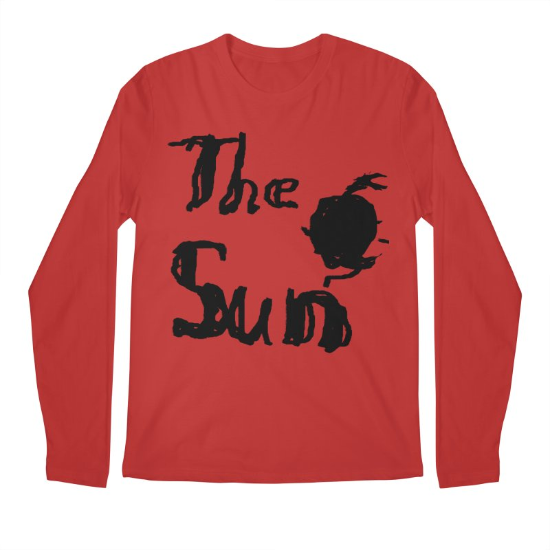 Shirt about the Sun Men's Regular Longsleeve T-Shirt by Undying Apparel Shop