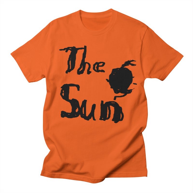 Shirt about the Sun Men's Regular T-Shirt by Undying Apparel Shop