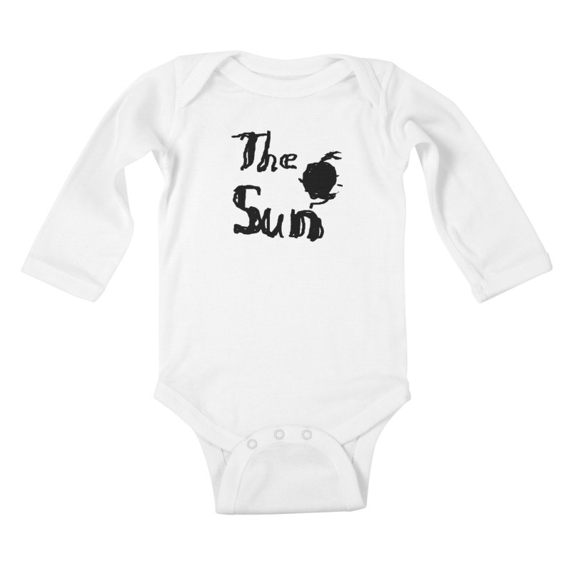 Shirt about the Sun Kids Baby Longsleeve Bodysuit by Undying Apparel Shop