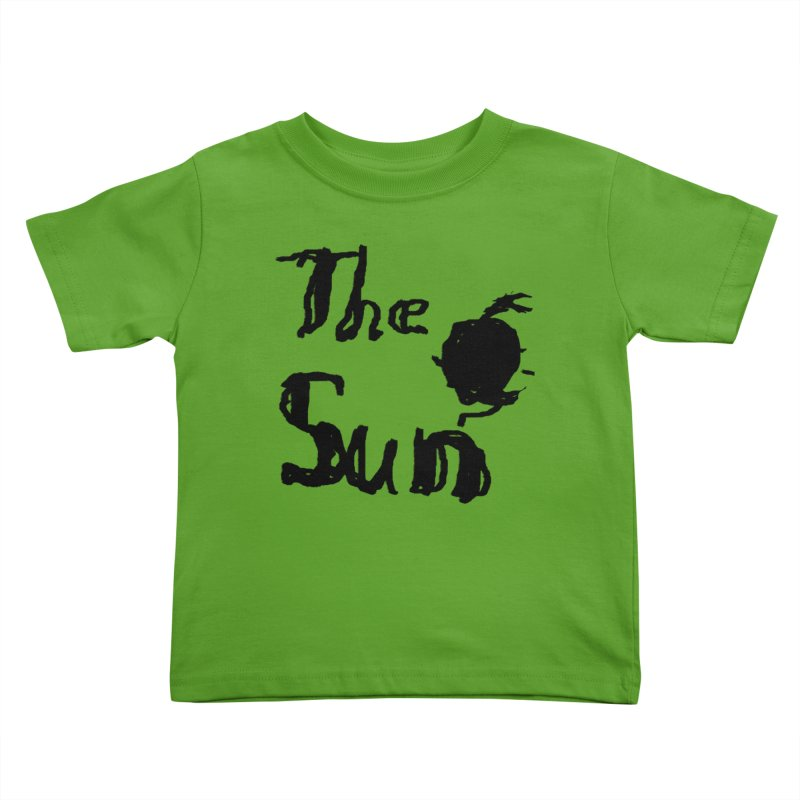 Shirt about the Sun Kids Toddler T-Shirt by Undying Apparel Shop