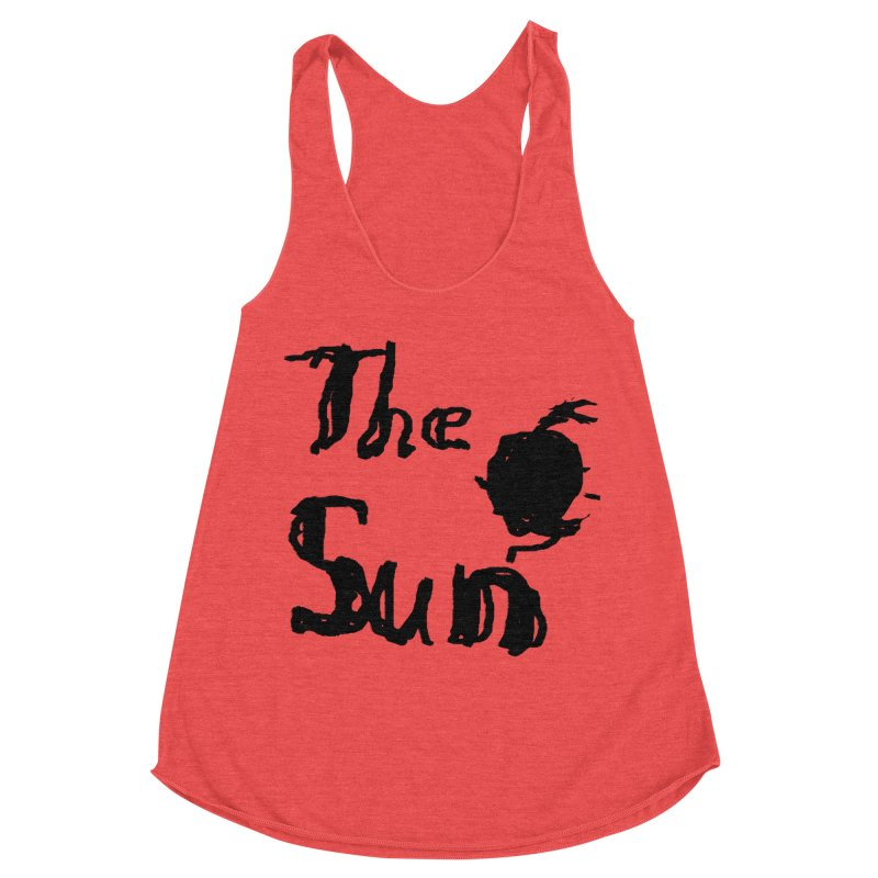 Shirt about the Sun Women's Racerback Triblend Tank by Undying Apparel Shop