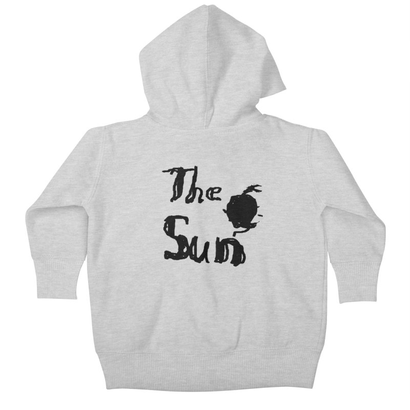 Shirt about the Sun Kids Baby Zip-Up Hoody by Undying Apparel Shop