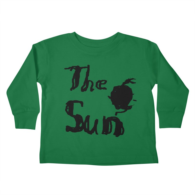 Shirt about the Sun Kids Toddler Longsleeve T-Shirt by Undying Apparel Shop