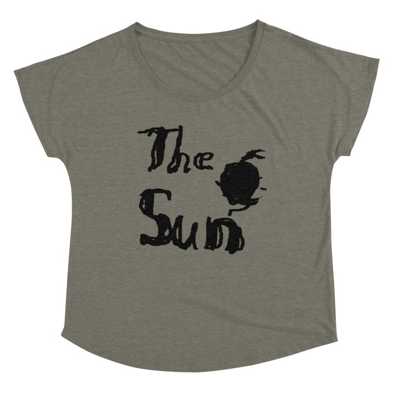 Shirt about the Sun Women's Dolman Scoop Neck by Undying Apparel Shop