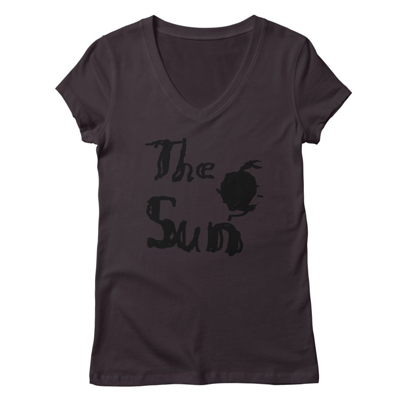 Shirt about the Sun Women's Regular V-Neck by Undying Apparel Shop