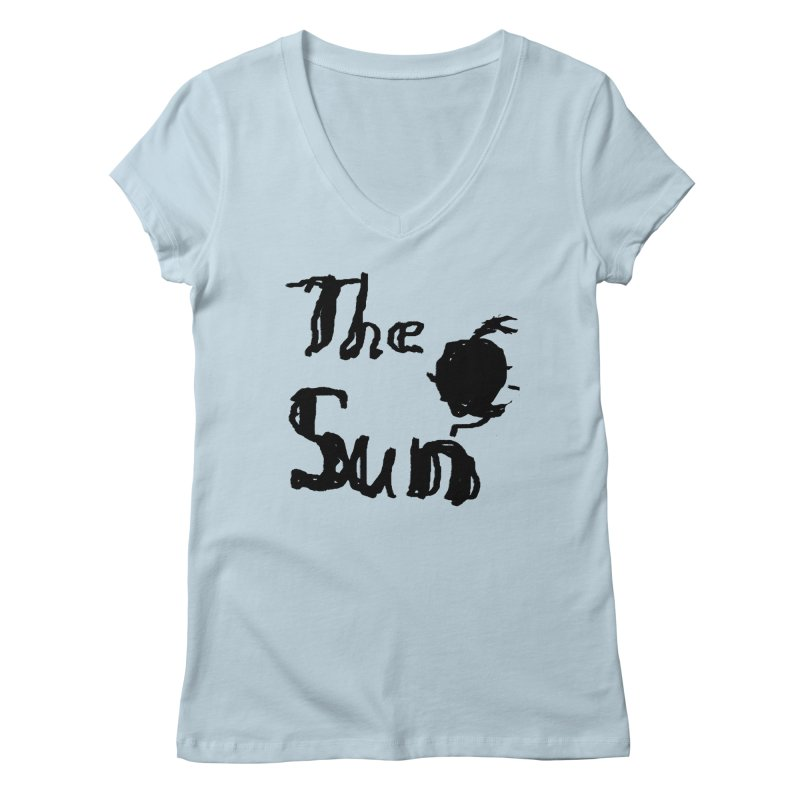 Shirt about the Sun Women's V-Neck by Undying Apparel Shop