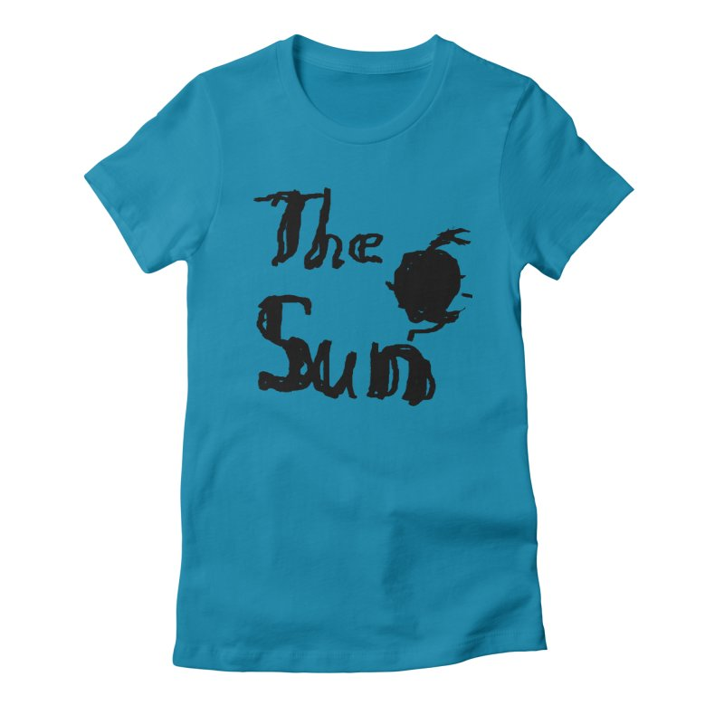 Shirt about the Sun Women's Fitted T-Shirt by Undying Apparel Shop