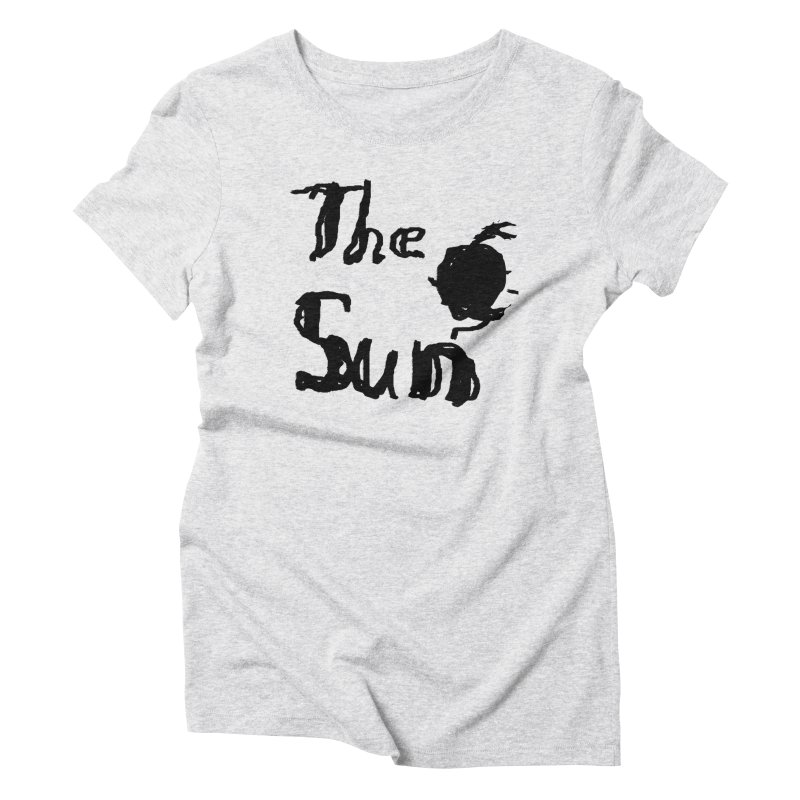 Shirt about the Sun Women's Triblend T-Shirt by Undying Apparel Shop