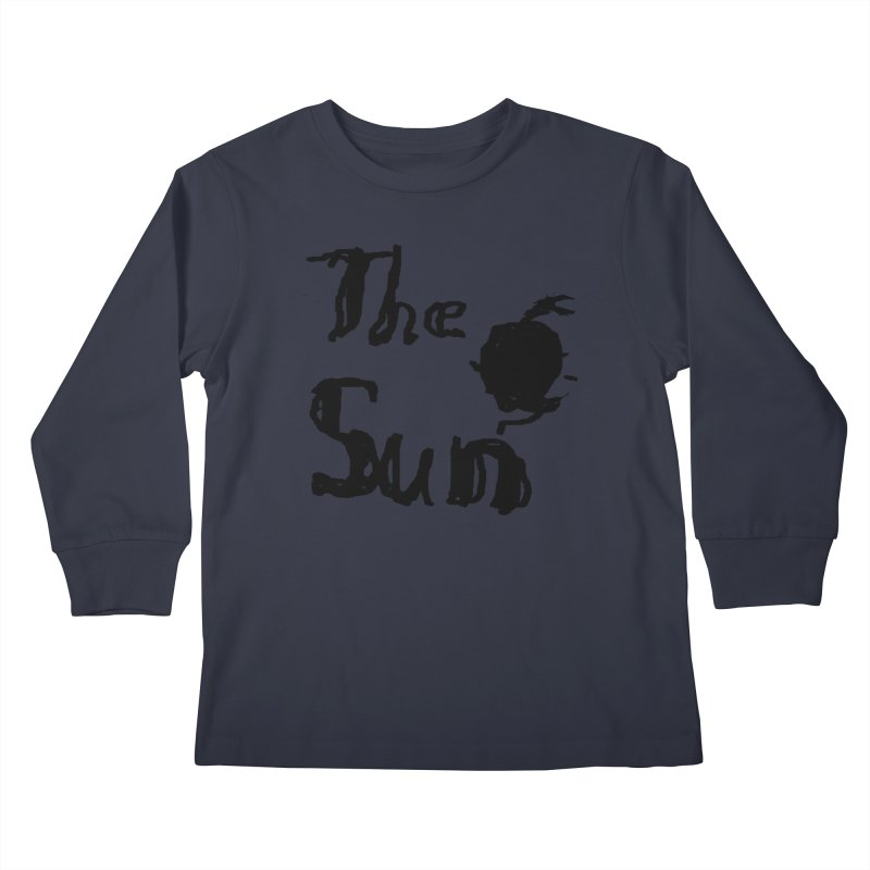 Shirt about the Sun Kids Longsleeve T-Shirt by Undying Apparel Shop
